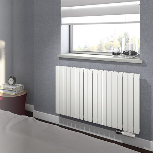 deko radiators Rosy Tandem Horizontal, 392x500mm, H1, balts