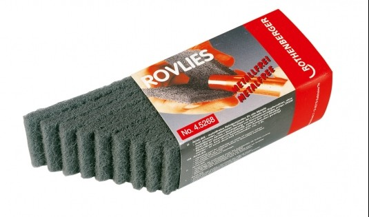 švammes Rovlies,130x60 mm, 10 gb.