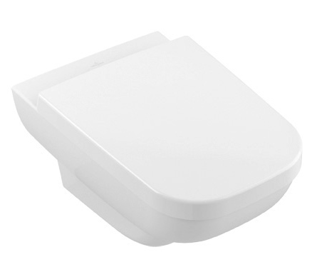 WC Joyce Rimless with Slimseat SC/QR, wall mounted, alpine white