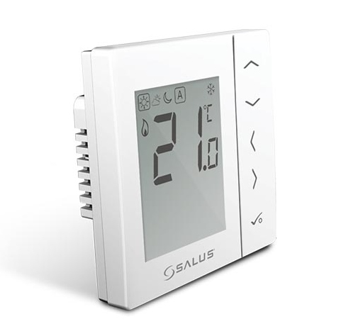 VS35W digital thermostat, white
