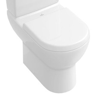 Subway, Washdown WC for close-coupled WC-suite, 370 x 670 mm, horizontal outlet, floor-standing, White Alpin