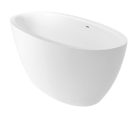 bathtub Flo, 1690x840 mm, matt white
