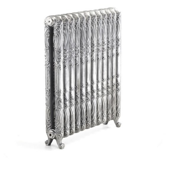 čuguna radiators Orleans H-980mm, 6 sekcijas, Highlight Polish