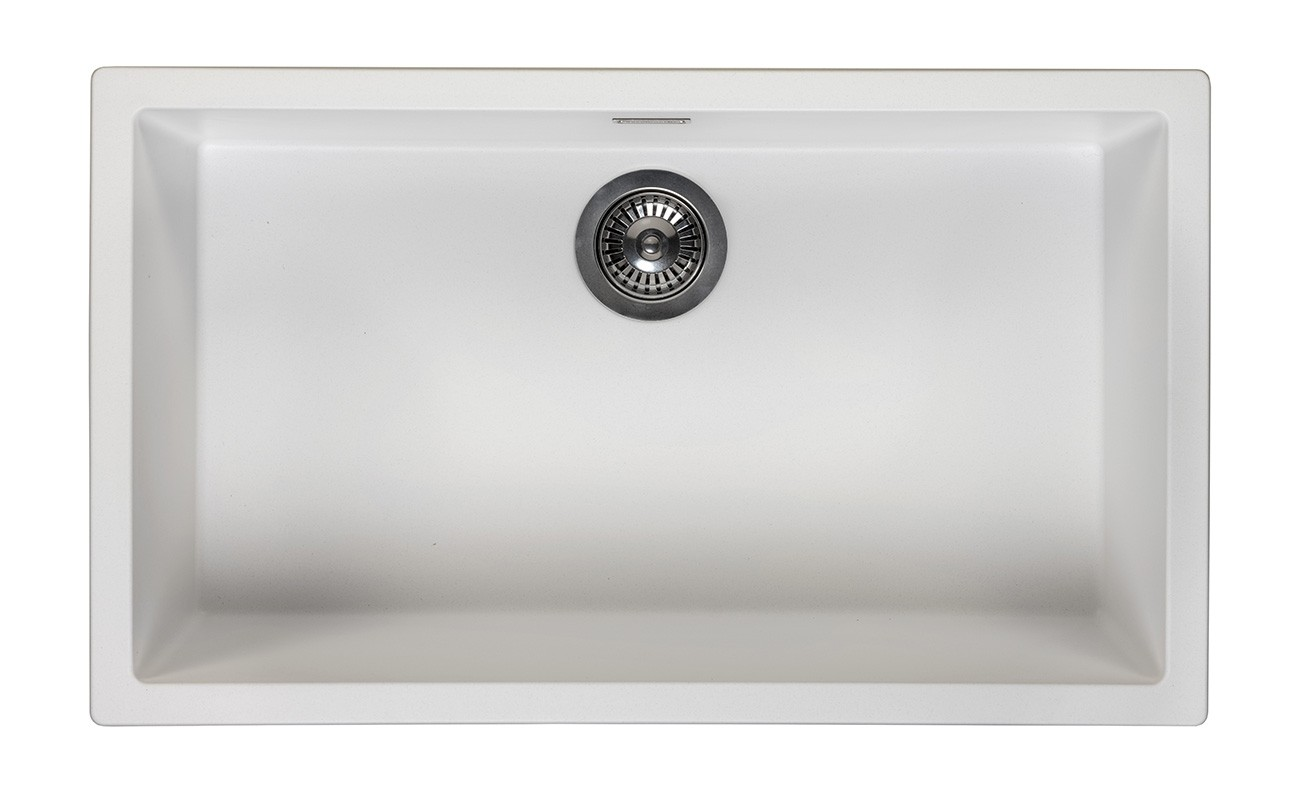 sink Amsterdam 72 Pure White, inset, in box