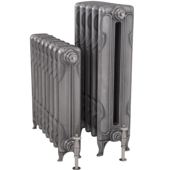 čuguna radiators Liberty 2 H-865mm, 5 sekcijas, Hand Burnished