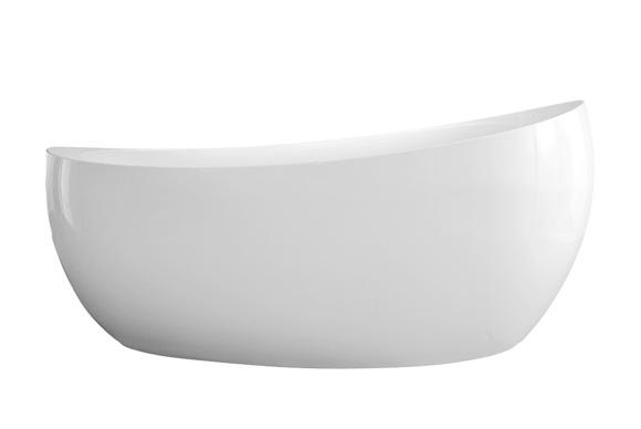 bathtub Aveo New Generation, 1900 x 950, Aveo, free-standing, incl. waste&overflow, white