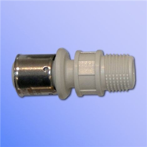 PPSU STRAIGHT MALE THREADED FITTING 32X3 X 1""